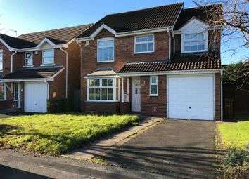 Thumbnail 4 bed detached house to rent in Calver Crescent, Wolverhampton