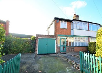 Thumbnail 3 bed semi-detached house for sale in Culver Grove, Stanmore HA7, Middlesex