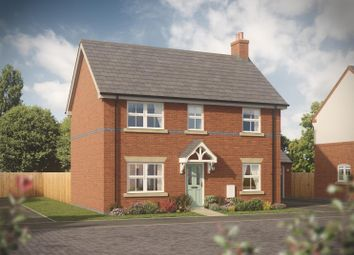 Thumbnail 4 bed detached house for sale in The Barnsbury, Chamberlain Place, Bosworth Road, Measham