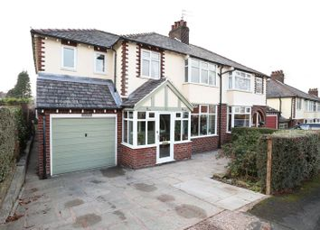 Thumbnail 4 bed semi-detached house for sale in Lark Hall Road, Macclesfield