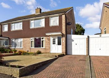 Thumbnail 3 bedroom semi-detached house for sale in Dean Croft, Herne Bay, Kent