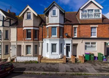 Thumbnail 4 bedroom terraced house for sale in Linden Crescent, Folkestone
