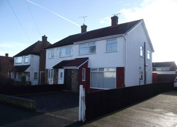 Thumbnail 3 bed semi-detached house to rent in Rusland Avenue, Pensby, Wirral