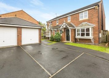 Thumbnail 3 bed semi-detached house for sale in Cottingham Grove, Thornley, Durham