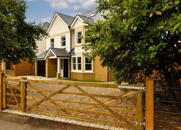 Thumbnail 5 bed detached house for sale in Manor Road North, Hinchley Wood, Esher