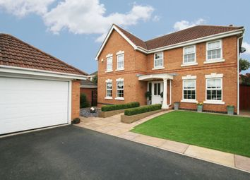 Thumbnail 5 bed detached house for sale in Prestwick Close, Widnes