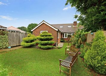 Thumbnail 4 bed semi-detached bungalow for sale in Manor Close, Lancing, West Sussex