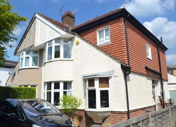 Thumbnail 4 bed semi-detached house for sale in Brantwood Avenue, Isleworth