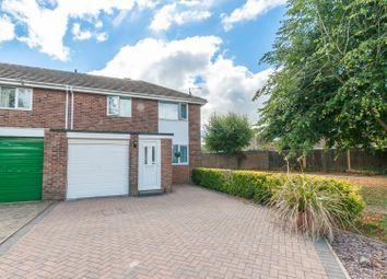 Thumbnail 3 bed end terrace house for sale in Saffron Close, Royal Wootton Bassett, Swindon