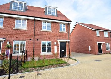 Thumbnail 3 bed semi-detached house to rent in Hayes Drive, Three Mile Cross, Reading