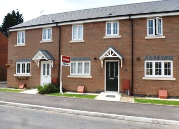 Thumbnail 3 bed terraced house for sale in Heatherley Grove, Wigston, Leicester