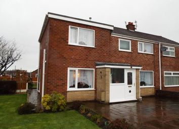 Thumbnail 4 bed semi-detached house for sale in Old Hall Drive, Bamber Bridge, Preston, Lancashire