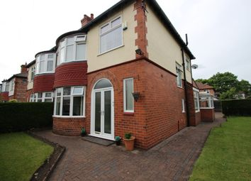 Thumbnail 3 bedroom semi-detached house for sale in Ruskin Road, Old Trafford