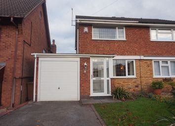 Thumbnail 2 bed semi-detached house for sale in Masefield Close, Lichfield