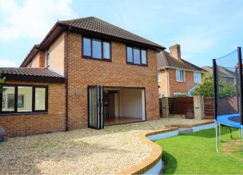 Thumbnail 4 bed detached house for sale in Gordons Close, Taunton