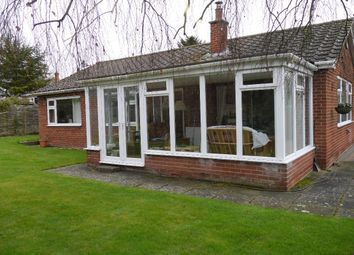 Thumbnail 3 bed bungalow for sale in Church Lane, Thorpe Satchville, Melton Mowbray