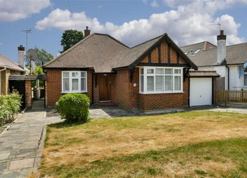 Thumbnail 3 bed detached bungalow for sale in The Warren, Worcester Park, Surrey