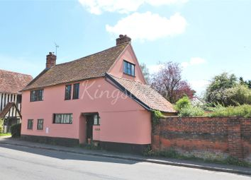 Thumbnail 4 bed country house for sale in Upper Street, Stratford St. Mary, Colchester, Suffolk
