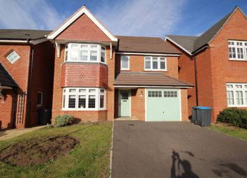 Thumbnail 4 bed detached house to rent in Short Way, Hinckley