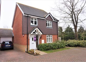Thumbnail 4 bed detached house for sale in Blake Road, Hermitage