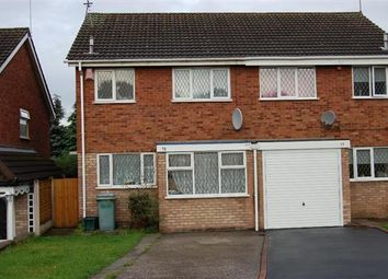 Thumbnail 3 bed semi-detached house for sale in Martingale Close, Walsall