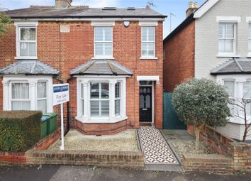 Thumbnail 4 bed semi-detached house for sale in Dorchester Road, Weybridge, Surrey