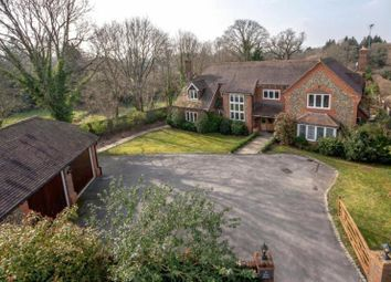 Thumbnail 5 bed detached house to rent in Perry Hill, Worplesdon, Guildford, Surrey