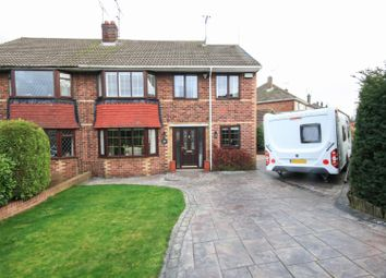 Thumbnail 4 bed semi-detached house for sale in Rochester Row, Scawsby, Doncaster