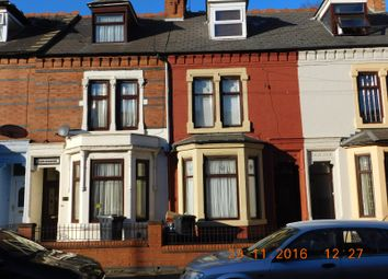 Thumbnail 5 bedroom terraced house for sale in Mere Road, Highfield, Leicester