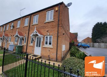 Thumbnail 2 bed town house for sale in Dunsil Row, Clipstone Village, Mansfield