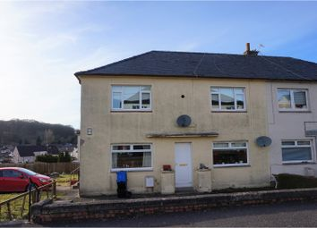 Thumbnail 2 bed flat for sale in Glencairn, Cumnock