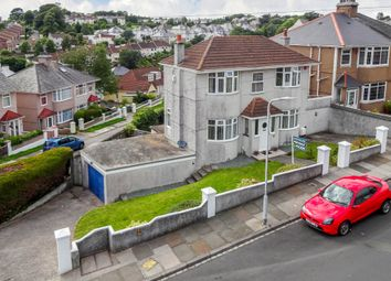 Thumbnail 4 bedroom detached house for sale in Efford Crescent, Plymouth