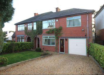 Thumbnail 4 bed semi-detached house for sale in Jack Haye Lane, Light Oaks, Stoke-On-Trent