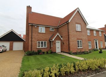 Thumbnail 4 bed detached house for sale in Whiley Lane, Stalham, Norwich