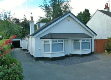 Thumbnail 4 bed bungalow for sale in Hooton Road, Willaston, Neston, Cheshire