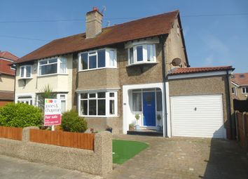Thumbnail 3 bed semi-detached house for sale in Queens Avenue, Meols, Wirral