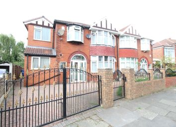 Thumbnail 6 bed semi-detached house for sale in Northleigh Road, Firswood, Manchester