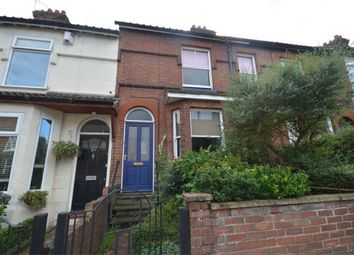 Thumbnail 3 bed terraced house for sale in Buxton Road, Norwich