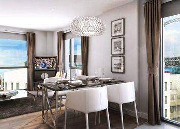 Thumbnail 1 bed flat for sale in Cambium House, North West Village, Empire Way, Wembley