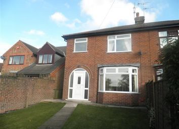 Thumbnail 3 bed semi-detached house to rent in Three Tuns Road, Eastwood, Nottingham