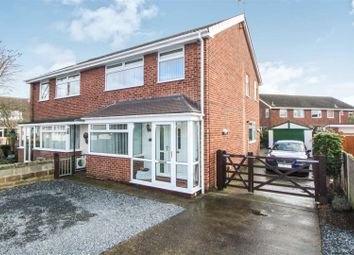 Thumbnail 3 bed semi-detached house for sale in Wyndham Close, Leconfield, Beverley