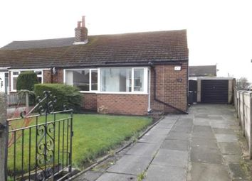 Thumbnail 2 bed bungalow for sale in Roughlee Avenue, Swinton, Manchester, Greater Manchester