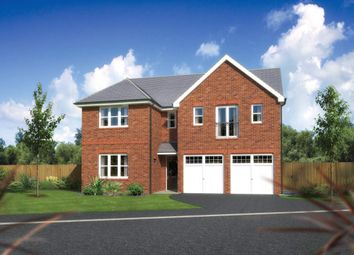 "Thumbnail 5 bedroom detached house for sale in ""Kingsmoor"" at Ffordd Eldon, Sychdyn, Mold"