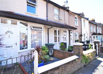 Thumbnail 2 bed terraced house to rent in Old Road West, Gravesend, Kent