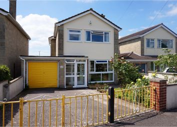 Thumbnail 3 bed detached house for sale in Martins Close, Wells
