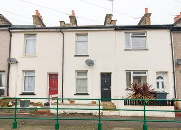 Thumbnail 2 bed terraced house for sale in Cross Lane East, Gravesend