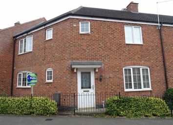 Thumbnail 3 bed town house for sale in Berrywell Drive, Barwell, Leicester