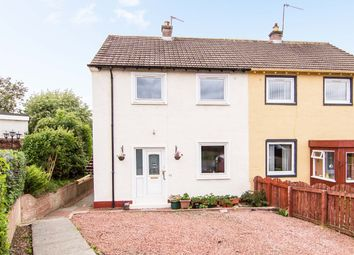 Thumbnail 2 bed semi-detached house for sale in Craigpark Avenue, Ratho, Newbridge