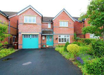 Thumbnail 4 bed detached house for sale in Carrwood Way, Walton-Le-Dale, Preston