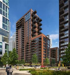 1 bed flat for sale in Embassy Gardens, Ponton Road, Nine Elms, Vauxhall, London SW8